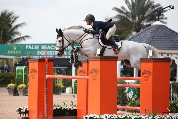 Chenoa McElvain on Wallstreet RC 1.4m WEF photo by Spotfot-web